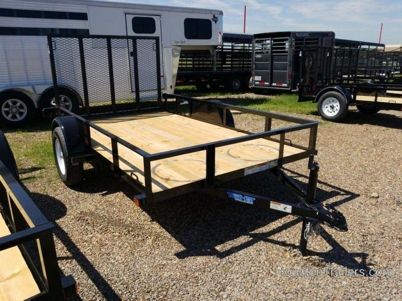 """2019 Top Hat 72"""" x 10' Utility Trailer TH-196"""