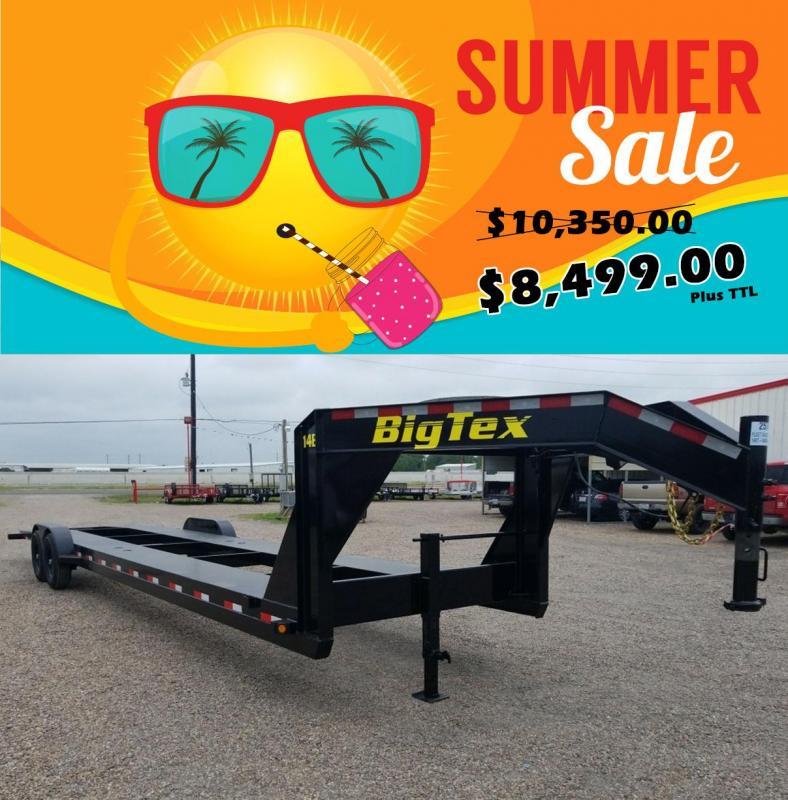 2018 Big Tex Trailers 2 Car Hauler / Racing Trailer 34' BX-146 in Ashburn, VA