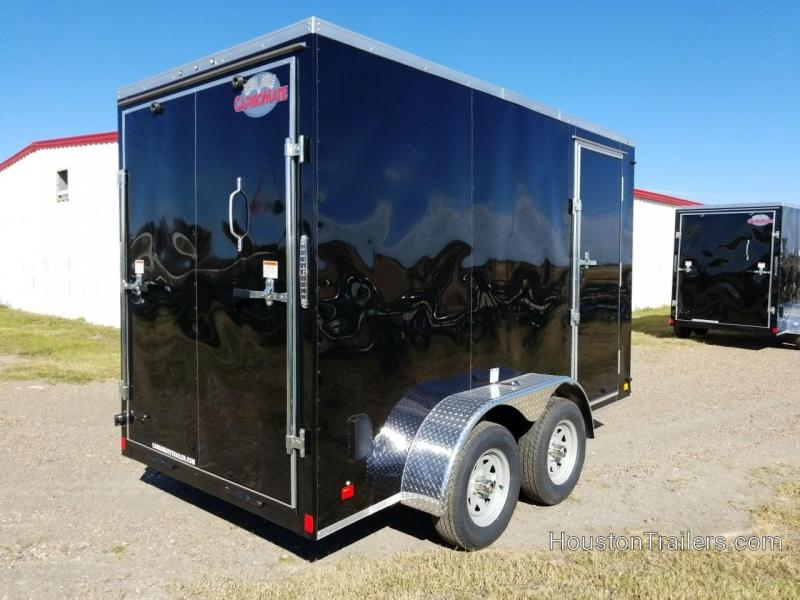 2019 Cargo Mate 12' x 6' Enclosed Cargo Trailer FR-69
