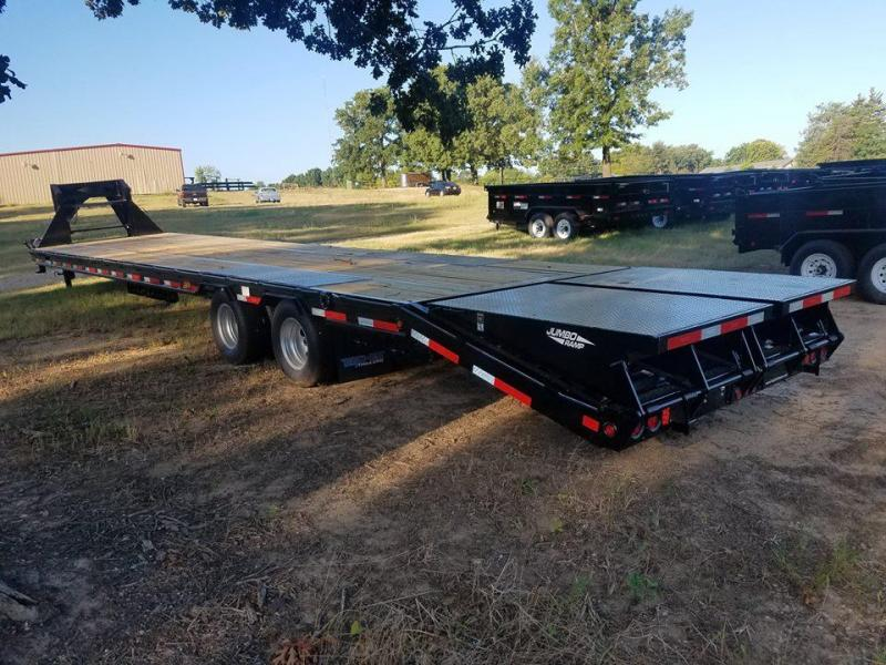 2018 Top Hat Trailers 35+5' GN 259 HD Flatbed Trailer TH-136