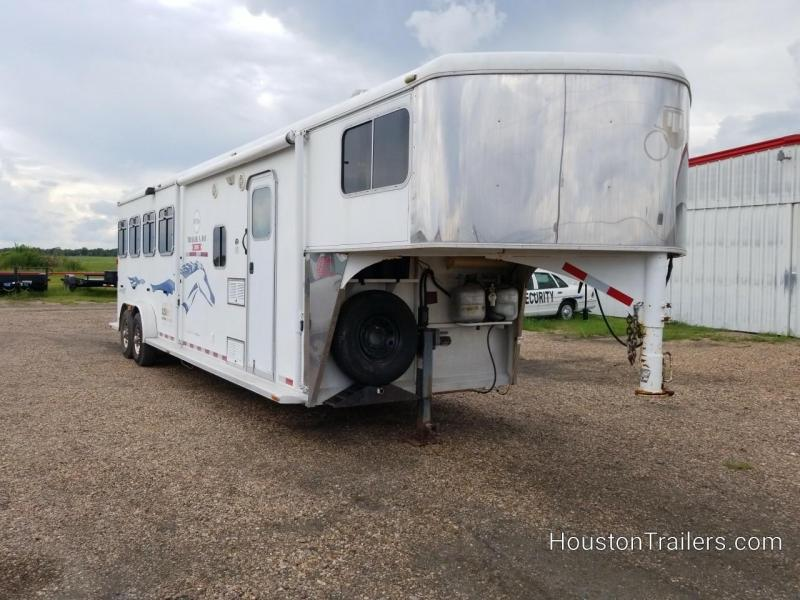 2005 Logan Coach Aluminum XT 4 Horse LQ Trailer CO-1050