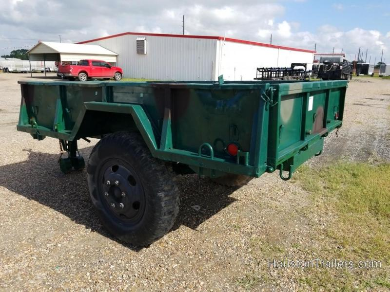 "1968 Other Military 110"" x 74"" Utility Trailer 8072"