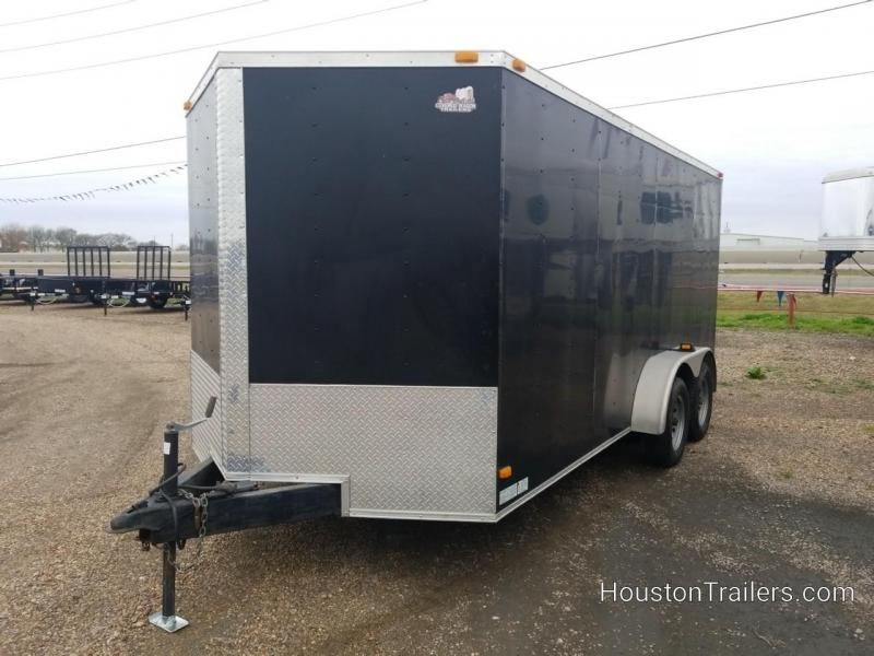 2014 Covered Wagon Trailers 16' Enclosed Cargo Trailer 8078