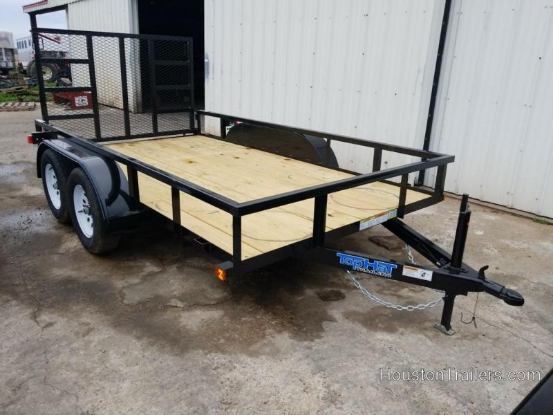 2019 Top Hat Trailers 12' LDT Utility Trailer TH-169