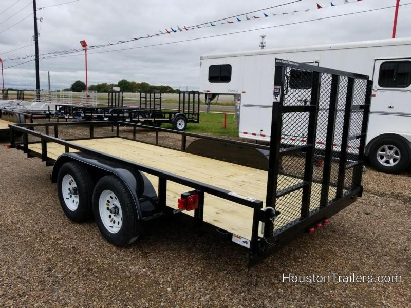 2019 Top Hat Trailers 16' LDT Utility Trailer TH-152