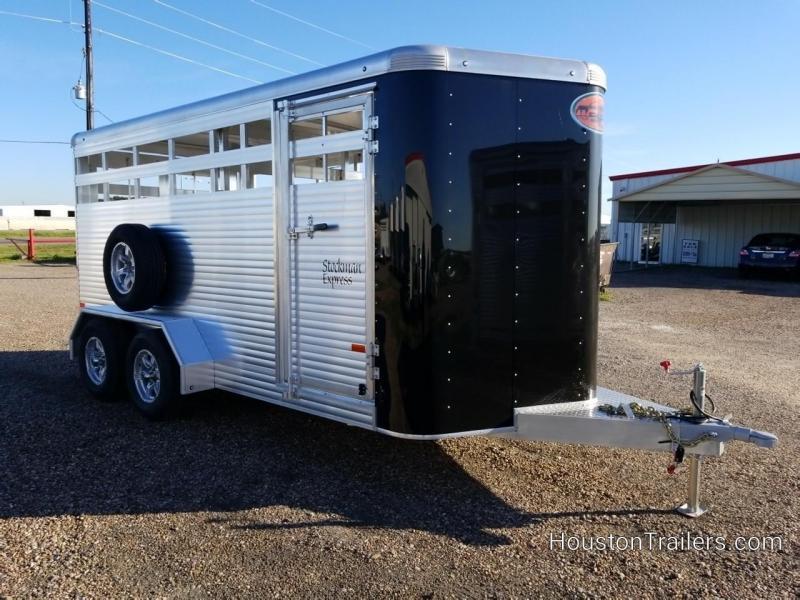 2019 Sundowner Trailers 16' Stockman Express Livestock Trailer SD-109
