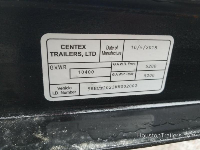 2019 Centex Trailers 20' Pipetop CT Utility Trailer CNTX-109