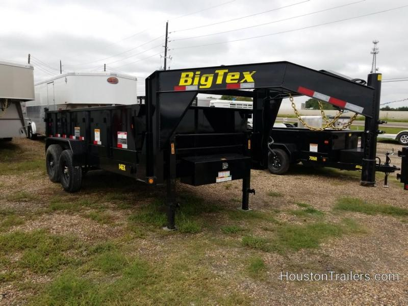 2019 Big Tex Trailers 14GX Dump 14' GN Trailer BX-159