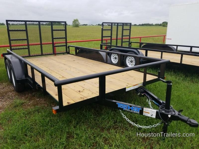 "2019 Top Hat Trailers MP 14' x 83"" Utility Trailer TH-143"