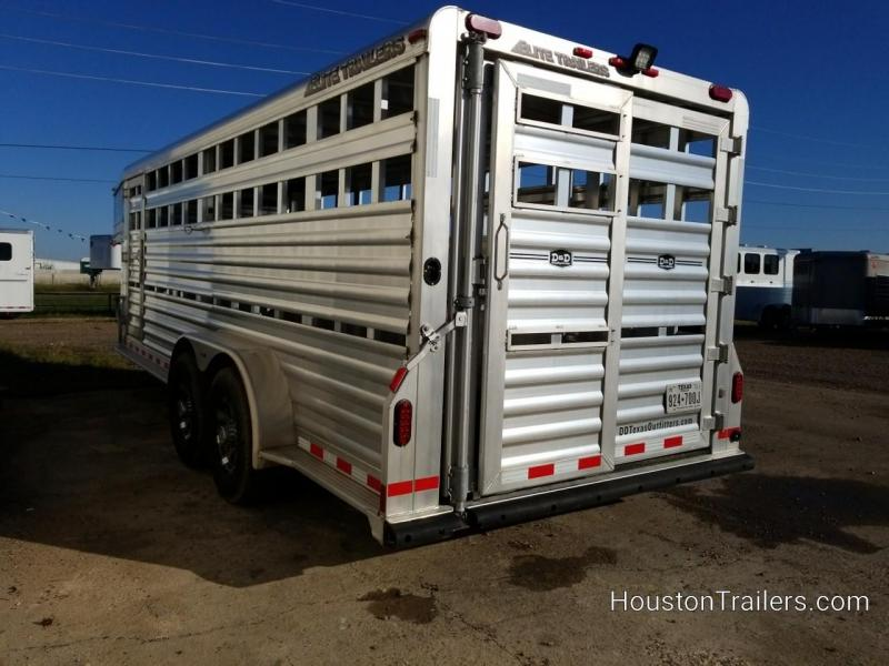 2016 Elite Trailers 20' Stock / Livestock Trailer CO-1055