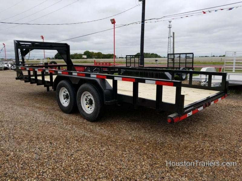 2019 Top Hat Trailers 20' HHGN Equipment Trailer TH-149