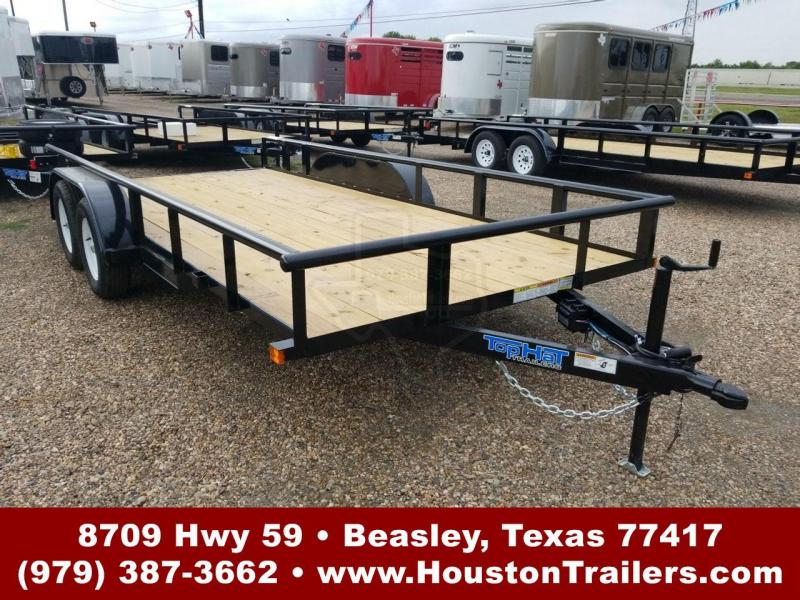 "2019 Top Hat Trailers 16' x 83"" MP Utility Trailer TH-148"