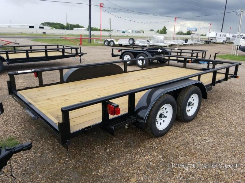 """2019 Top Hat Trailers 16' x 83"""" MP Utility Trailer TH-148"""