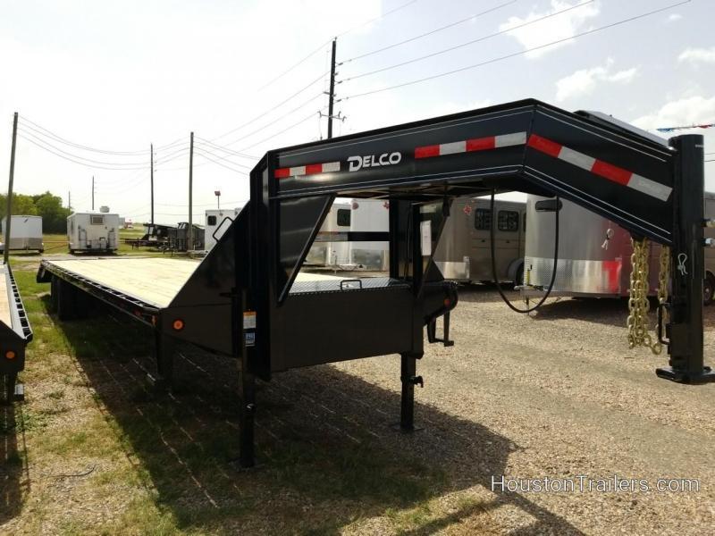 2018 Delco Trailers 40' 24K Flatbed Trailer DEL-40