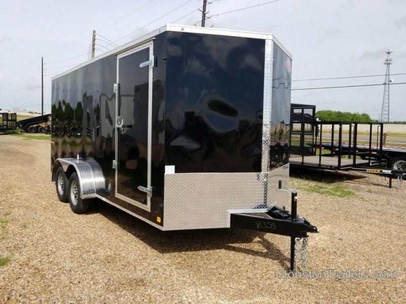 "2019 Cargo Mate E-Series 7 x 16 x 6'6"" Enclosed Cargo Trailer FR-86"