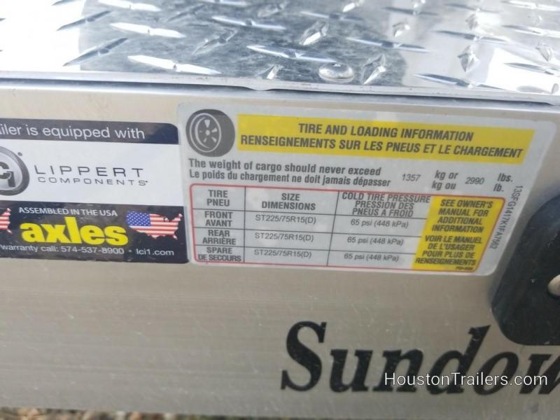 2019 Sundowner Trailers 14' 8114SUT Utility Trailer SD-94