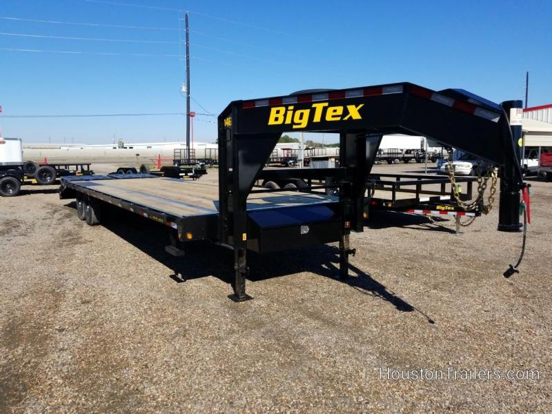 2019 Big Tex Trailers 25+5 14GN Flatbed Trailer 15.9K BX-162