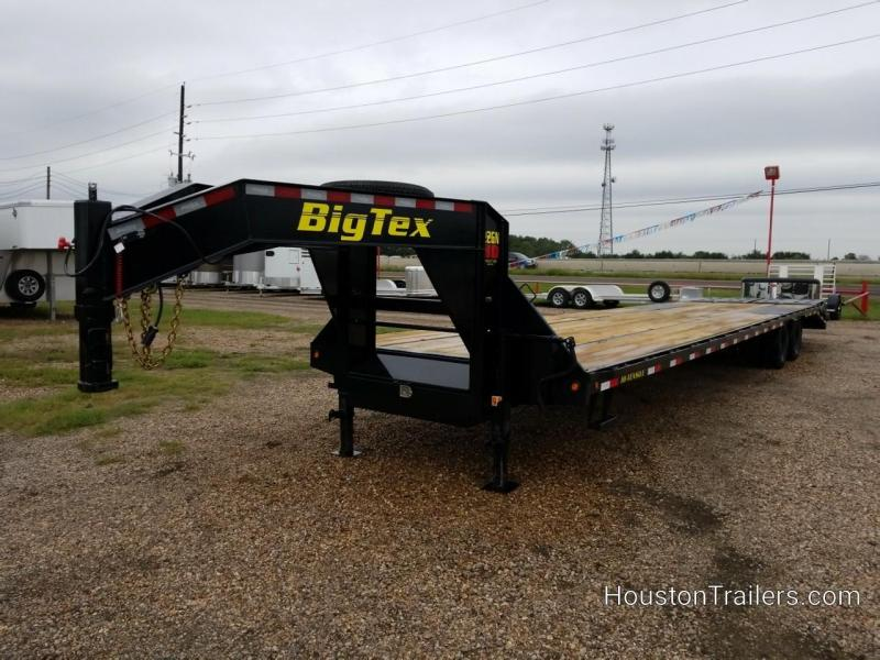 2019 Big Tex Trailers 35 + 5' (40' total) 22GN Flatbed Trailer BX-157