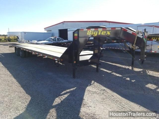 "2018 Big Tex Trailers 22GN 102"" x 35' HD HYD Flatbed Trailer BX-134"