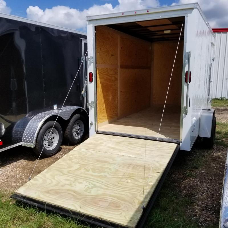 2018 Salvation Trailers 6' x 12' Enclosed Cargo Trailer CT-16