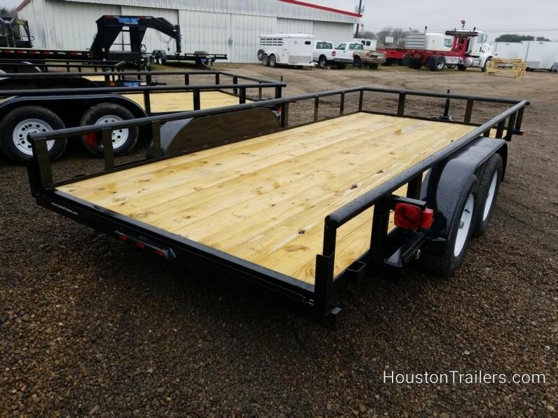 2019 Top Hat Trailers 16' MP Utility Trailer TH-160