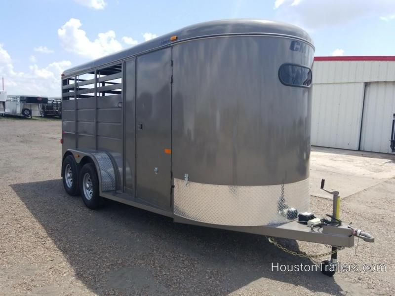 2017 CM Dakota 3 Horse Trailer 3H 16' x 6' CM-56