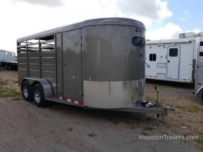 2019 CM Trailers 3H Dakota 10k Horse