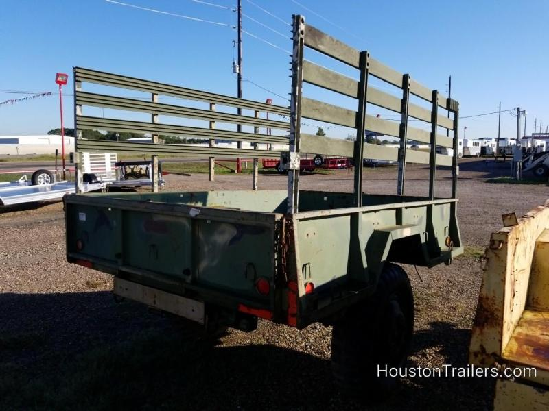"1968 Other Military 110"" X 74"" SA Utility Trailer 8071"