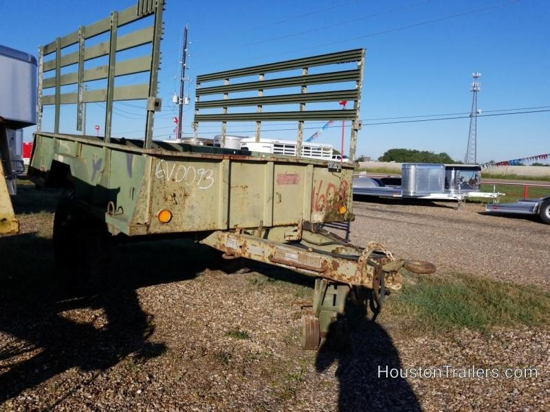 "1968 Other Military 110"" X 74"" SA Utility Trailer 8071 in TX"