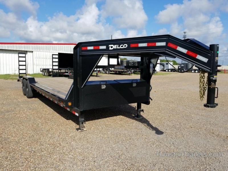 2020 Delco Trailers 26' Drive Over Fender Equipment Trailer