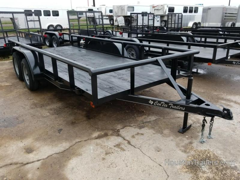 2019 Centex Trailers 16' CT Pipetop Utility Trailer CNTX-108