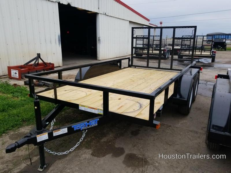 2019 Top Hat Trailers 12' LDT Utility Trailer TH-170