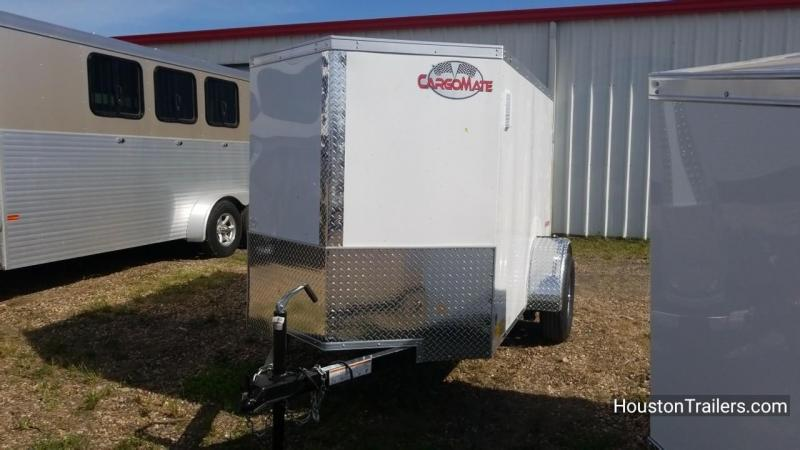2018 Cargo Mate 5' x 8' Enclosed Cargo Trailer FR-51