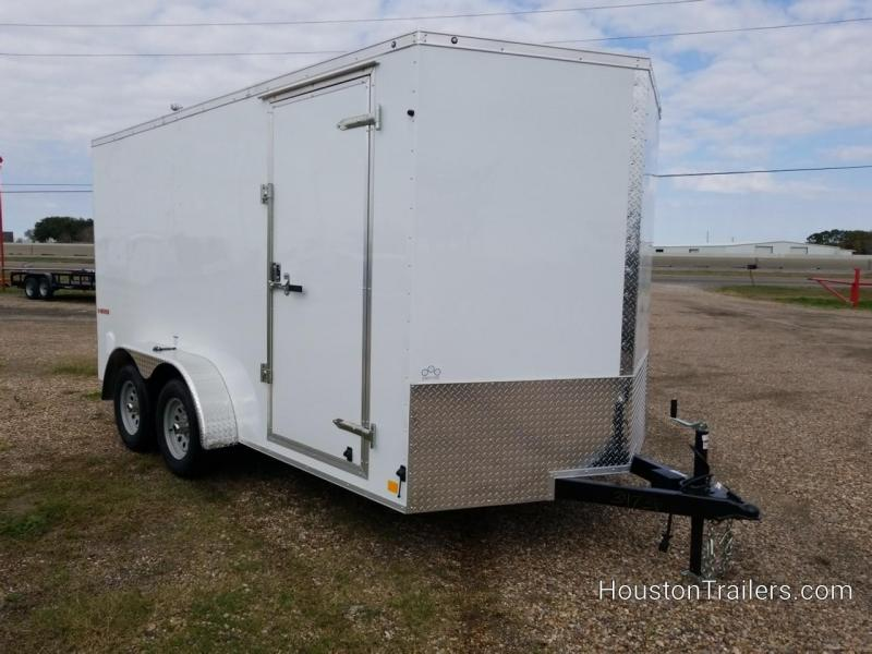 2019 Cargo Mate 7 x 14 Enclosed Cargo Trailer FR-76