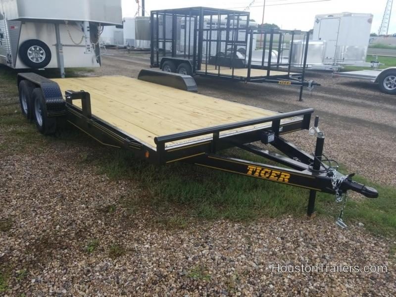 2018 Tiger 18' Car Hauler / Racing Trailer TI-27