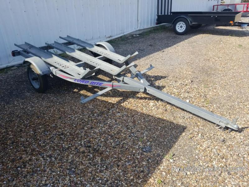 2012 Load Rite 3 Rail MC Motorcycle Trailer 8056