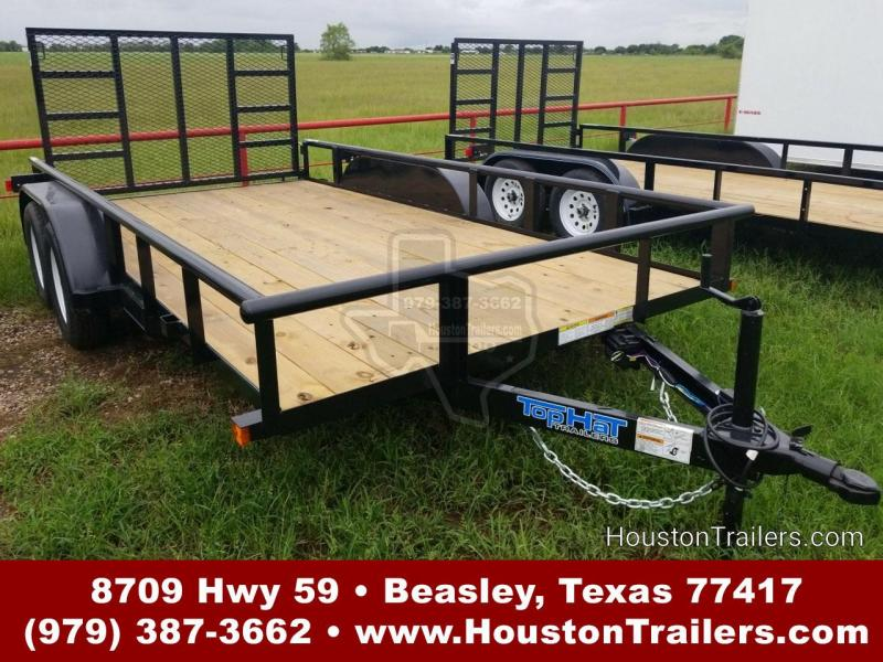 "2019 Top Hat Trailers MP 14' x 83"" Utility Trailer TH-144"