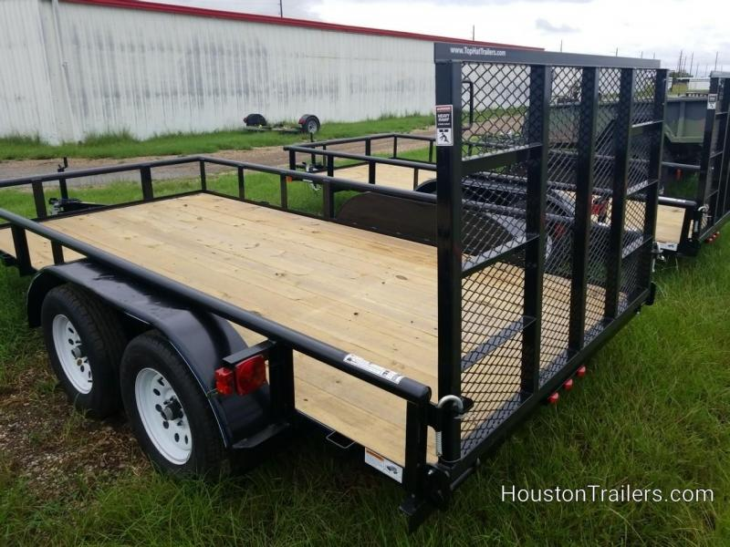 """2019 Top Hat Trailers MP 14' x 83"""" Utility Trailer TH-144"""