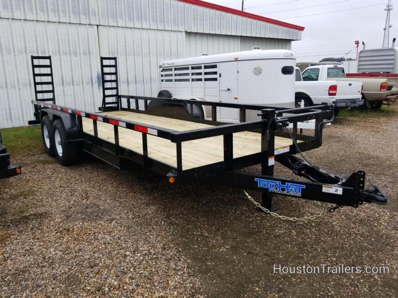 2019 Top Hat Trailers 20' HH Equipment Trailer TH-157