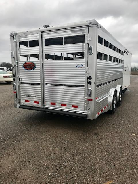 2019 Sundowner Trailers Special Order Rancher Show Stock Combo Livestock Trailer
