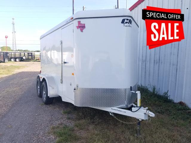 2017 CM Trailers 12' x 6' Enclosed Cargo Trailer CM-8