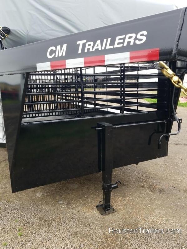 2019 CM Trailers 20' Brush Buster BT Livestock Trailer CM-75