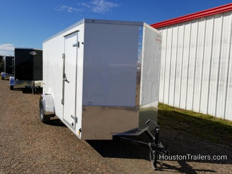 2019 Cargo Mate 6' x12' SA Enclosed Cargo Trailer FR-68
