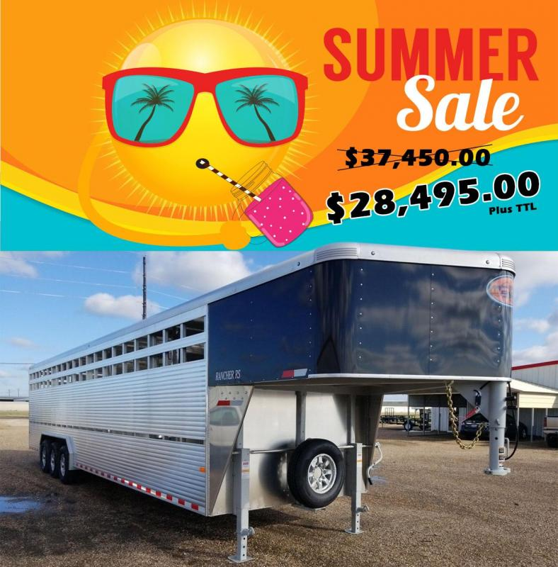2019 Sundowner Trailers 32' x 8' x 7' Rancher RS Livestock Trailer SD-111 in Ashburn, VA