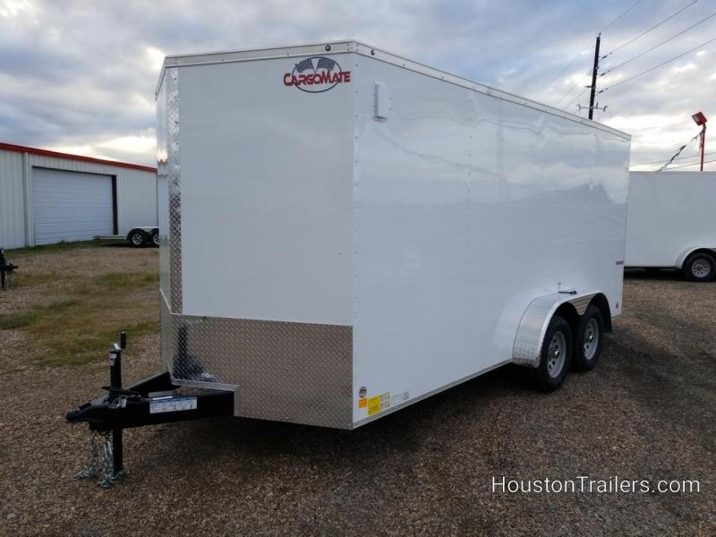 2019 Cargo Mate 7' x 16' Enclosed Cargo Trailer FR-72