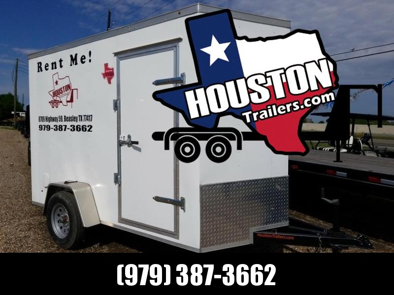 2018 Salvation Trailers Rental 10' x 6' Enclosed Cargo Trailer CT-10