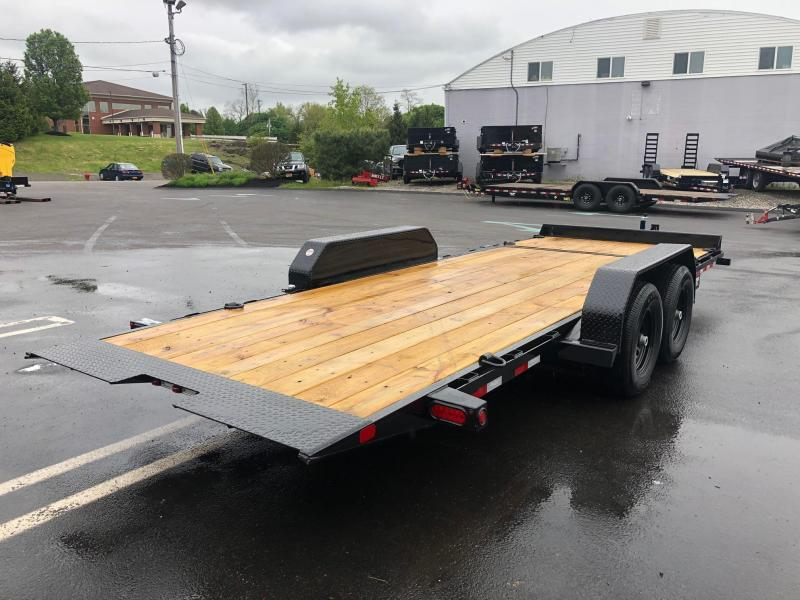 BIGTEX 2020 6.5' X 20' (16+4) 10K TILT EQUIPMENT  TRAILER
