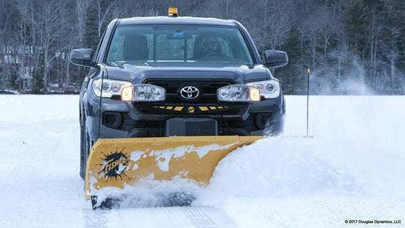 Fisher HS Straight Blade Snow Plow