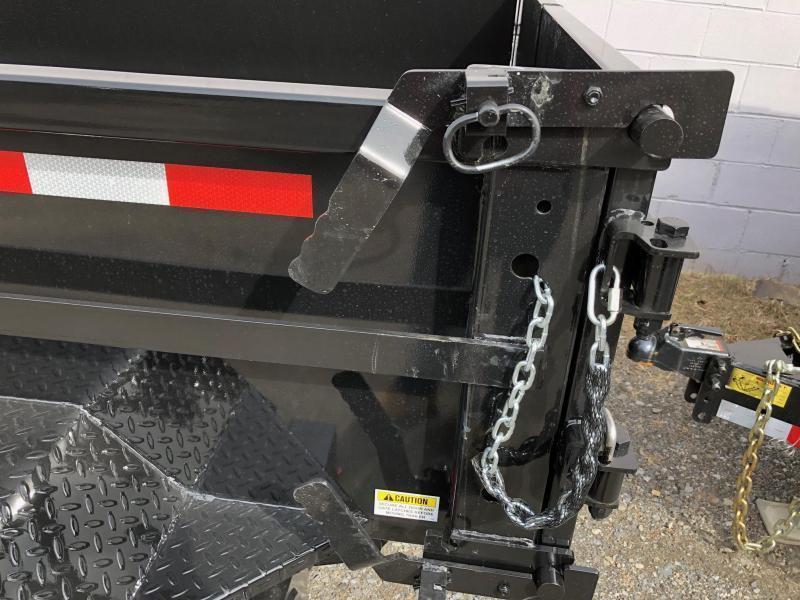 CAM 2020 5-TON 6' x 10' LOW PROFILE DUMP TRAILER