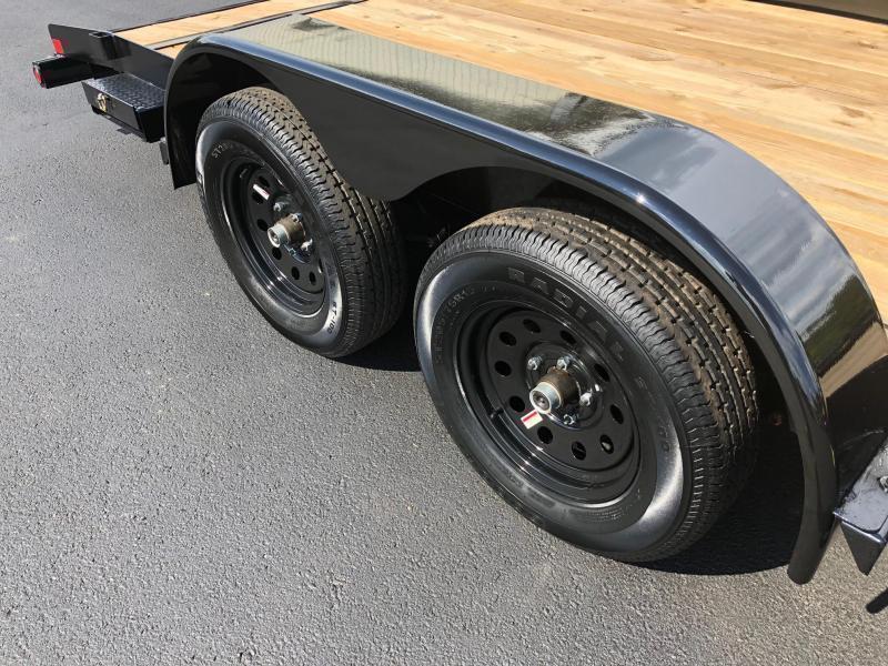 BIGTEX 2020 70CH 7' X 18' TANDEM AXLE CAR HAULER